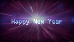10to 1 countdown space new year Stock Video Footage