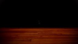 10to 1 countdown wood floor Stock Video Footage