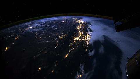 4 K from North to South America Stock Video Footage