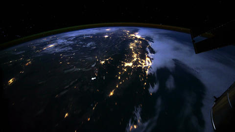 From North to South America Stock Video Footage