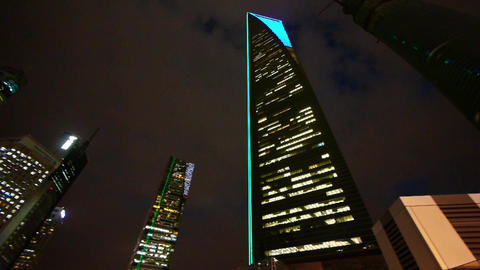 modern urban building,shanghai pudong economic center… Stock Video Footage