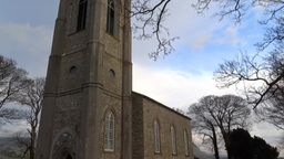 Druncliffe Church Stock Video Footage