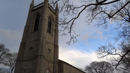 Druncliffe Church Stock Video Footage