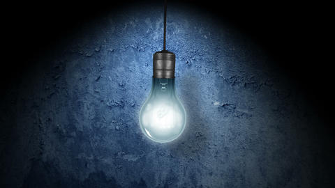Flickering Light Bulb Animation