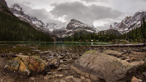 Lake O'Hara evening Footage