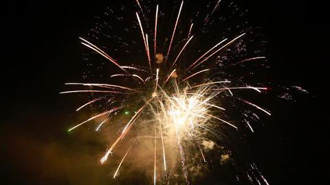 fireworks Stock Video Footage