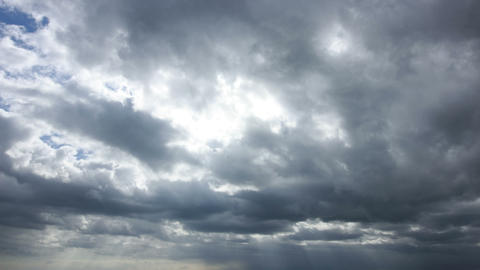 Time lapse clip of cloudy sky Stock Video Footage