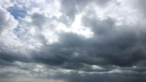 Time lapse clip of cloudy sky Footage