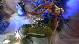 Christmas Decorations Stock Video Footage