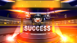 """""""Success"""" in motion onstage Stock Video Footage"""
