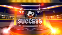 """Success"" in motion onstage Stock Video Footage"