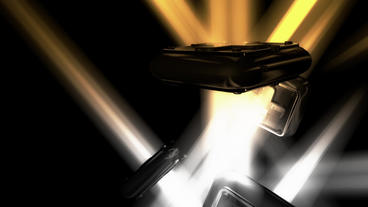 Modern futuristic sci-fi abstract light art,Cross Stock Video Footage