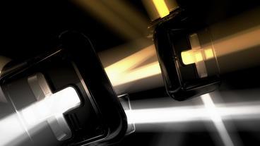Modern Futuristic Sci-fi Abstract Light Art,Cross  stock footage