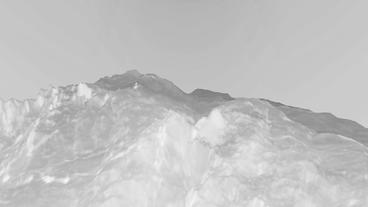 Gray liquid ocean sea water lava magma,mountain spray... Stock Video Footage