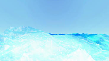 Blue liquid ocean sea water lava magma,spray waves &... Stock Video Footage