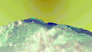 Blue Liquid Ocean Sea Water Lava Magma,spray Waves & Volcanic Activity stock footage