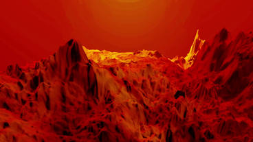Red liquid ocean sea water lava magma,spray waves &... Stock Video Footage