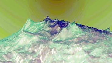 liquid ocean sea water lava magma,spray waves & volcanic activity Animation
