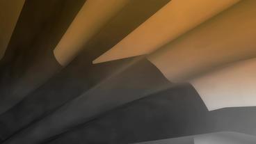 flying in sci-fi metal pipeline tunnel Stock Video Footage