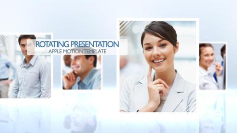 Rotating Presentation - Apple Motion and Final Cut Pro X Template Plantilla de Apple Motion
