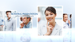 Rotating Presentation - Apple Motion Template