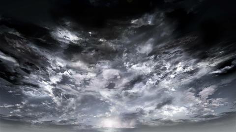 dark SKY Stock Video Footage