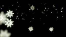Falling Snow Animation Stock Video Footage