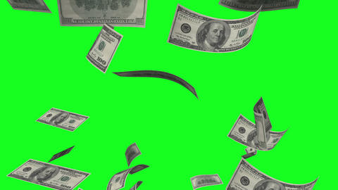 Money Rain stock footage