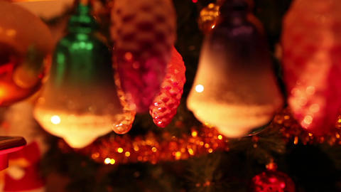 Christmas toys Stock Video Footage