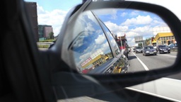 Driving a car Footage