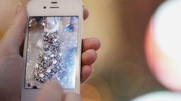 Using smartphone Stock Video Footage