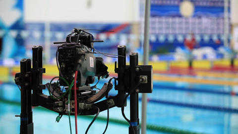 professional motion Camera Stock Video Footage