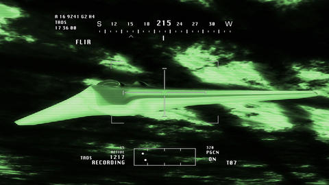 Drone FQ 170 5 nightvision Stock Video Footage