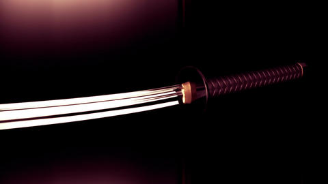 Samurai Katana Japanese Sword 4 Animation