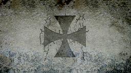 Maltese Cross Animation stock footage