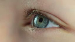 Human eye. Close-up Stock Video Footage