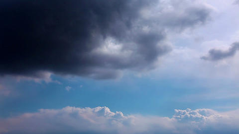 sky and clouds - timelapse Stock Video Footage
