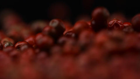 Food Spices Pink red pepper Stock Video Footage