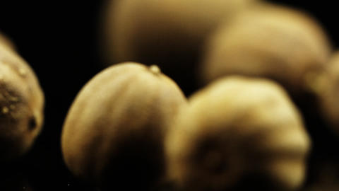 Food Spices Dried Lemon Footage