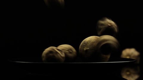 Food Spices Dried Lemon Stock Video Footage