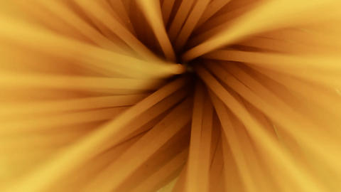 Food Spaghetti in a pot spinning macro shot Footage