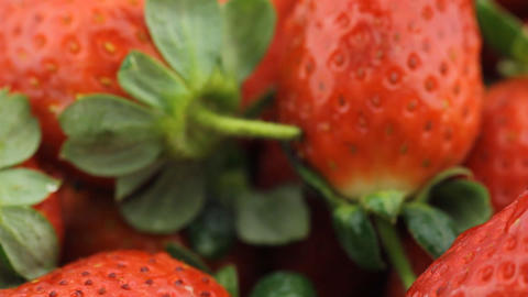 Food Strawberry fruit juice Stock Video Footage