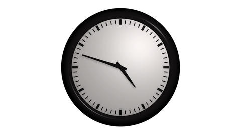 Time Lapse Clock stock footage