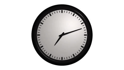 time lapse clock Stock Video Footage