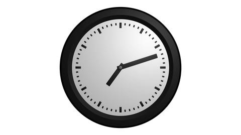 fast clock ticking Stock Video Footage