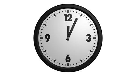 speed up clock Stock Video Footage