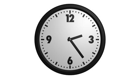 speed up clock Stock Video Footage