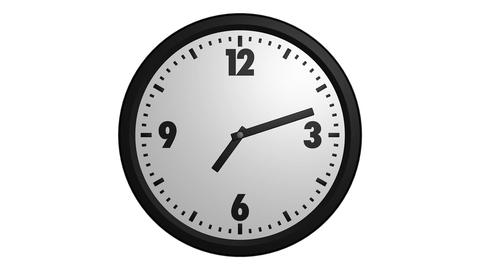 Speed Up Clock stock footage