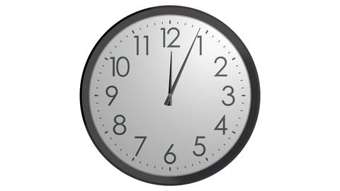 time running wall clock Animation