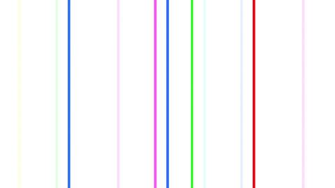 Neon tube W Tbf F L 3 HD Stock Video Footage